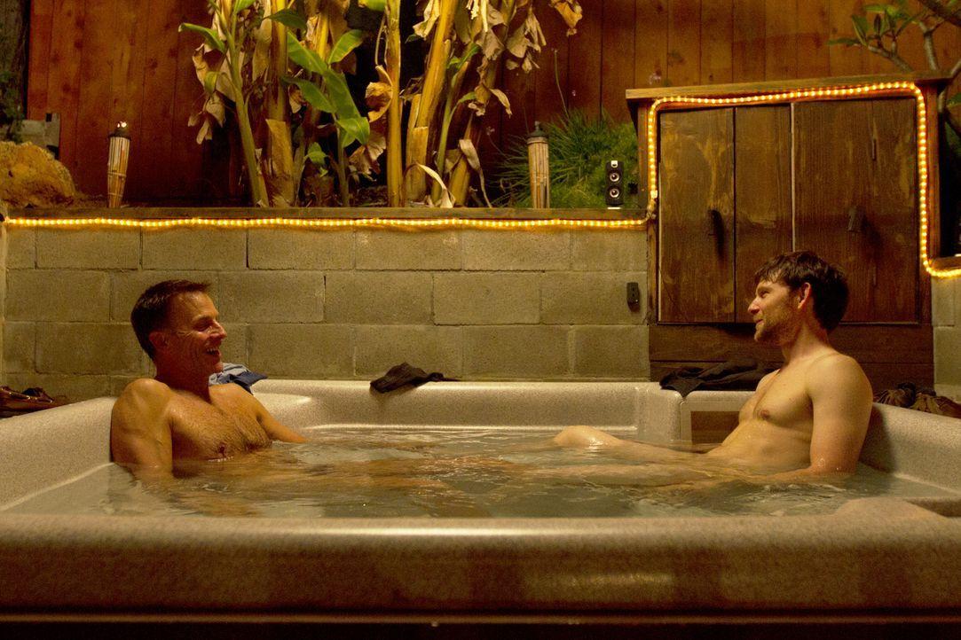 Wie weit werden Christian (l.) und Tahl (r.) bei ihrem ersten Date gehen? - Bildquelle: Showtime Networks Inc. All rights reserved.