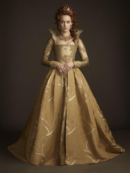 (3. Staffel) - Die englische Königin Elizabeth (Rachel Skarsten) gerät immer weiter unter Druck und spinnt sich ein Netzt aus Intrigen. Wird sie dam... - Bildquelle: 2014 The CW Network, LLC. All rights reserved.