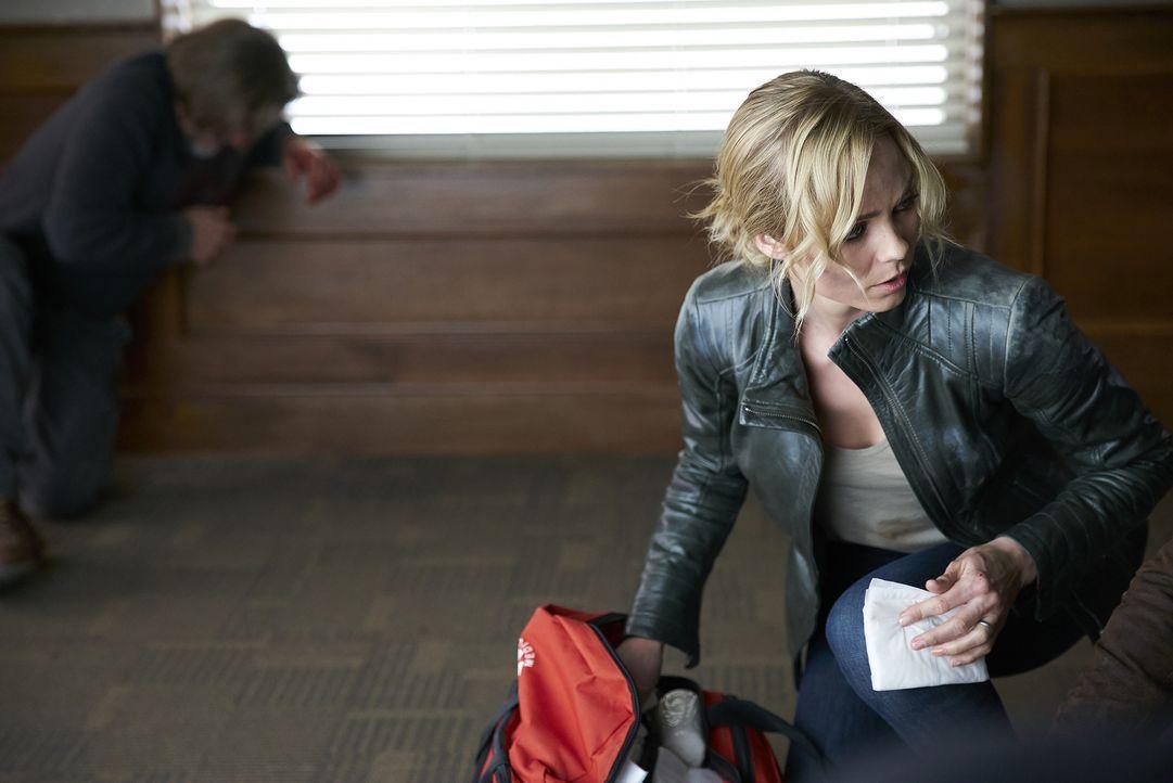 Ist es bereits zu spät, als Elena (Laura Vandervoort) erkennt, wie tief die Wut der Navikevs auf die Antonovs wirklich ist? - Bildquelle: 2016 She-Wolf Season 3 Productions Inc.