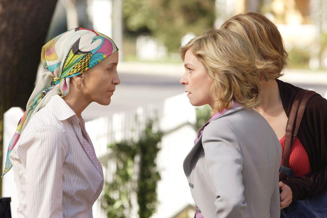 Geraten in einen Streit, da keiner von ihnen ihre Mutter Stella bei sich aufnehmen möchte: Lynette (Felicity Huffman, l.), Lucy (Carrie Preston, M.)... - Bildquelle: ABC Studios