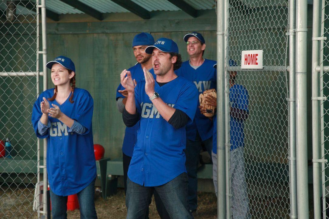 Owen organisiert ein Baseballspiel gegen das Seattle Presbyterian Krankenhaus. Doch während des Spiels tragen einige der Ärzte ihre Konflikte innerh... - Bildquelle: ABC Studios