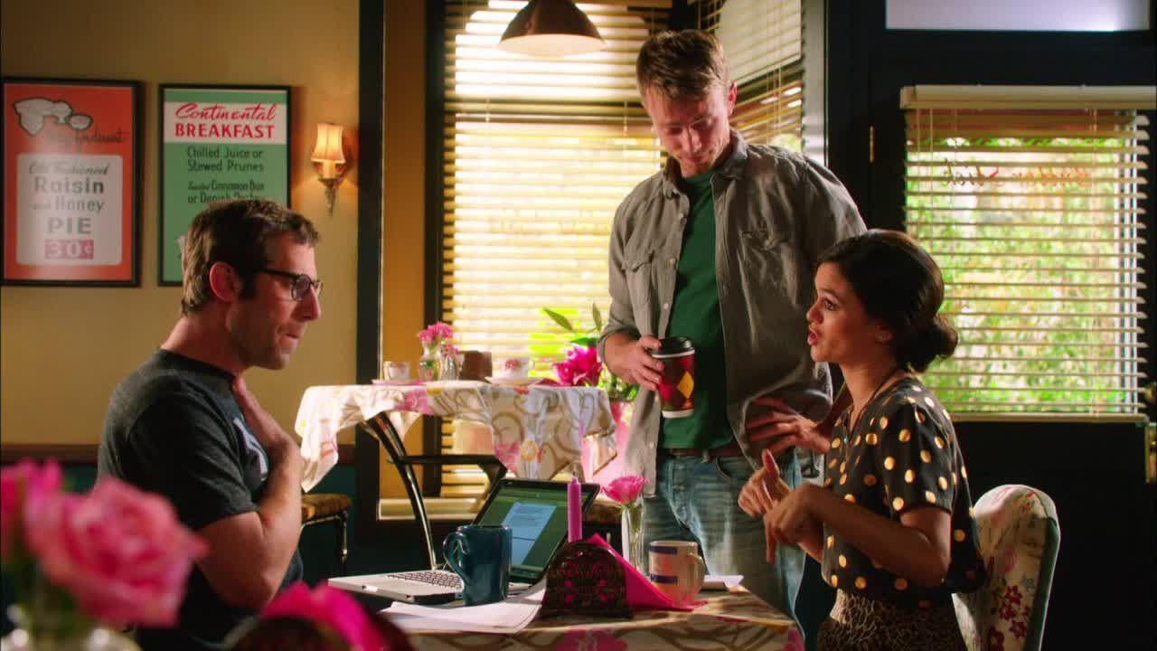 Zoe muss sich vor Wade und Joel beweisen: - Bildquelle: Warner Bros. Entertainment Inc.