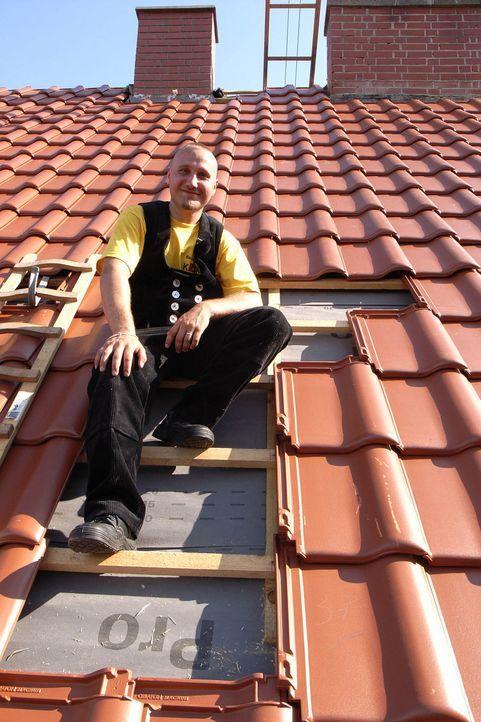 Das Bauunternehmen der Geschwister Kunze hat einen Ausbildungsplatz zum Dachdecker zu vergeben. Tim, Ricardo und Mario wetteifern um die freie Stell... - Bildquelle: ProSieben