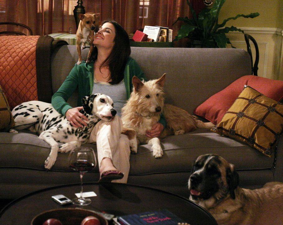 Zwischen Ted und Robin (Cobie Smulders) knistert es gewaltig, obwohl er eigentlich in einer festen Beziehung ist ... - Bildquelle: 20th Century Fox International Television