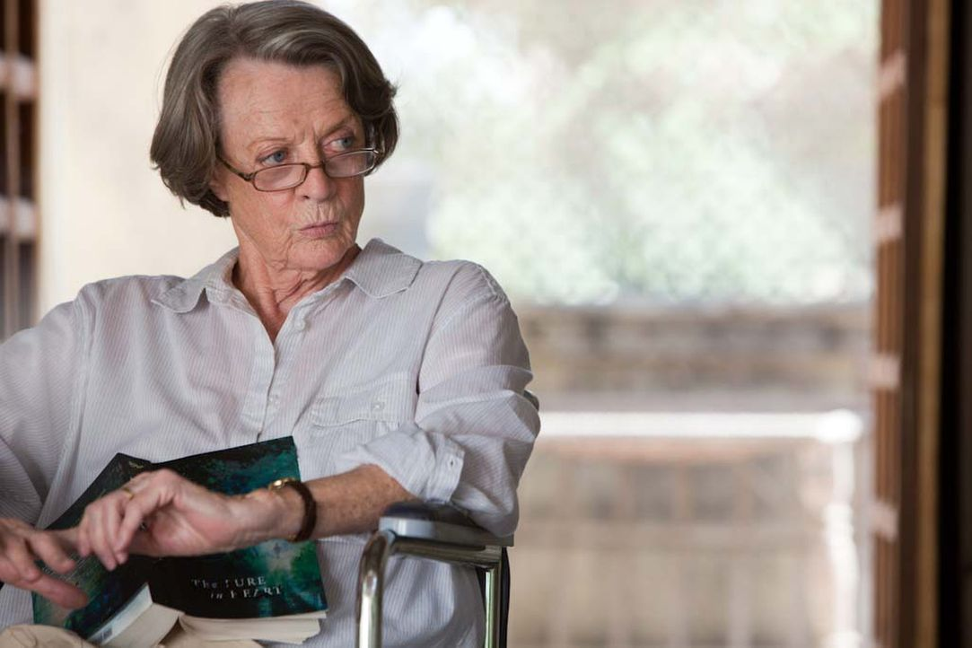 Auf die vorurteilbehaftete Muriel (Maggie Smith) wartet in Indien ein außergewöhnliches Abenteuer ... - Bildquelle: 2012 Twentieth Century Fox Film Corporation. All rights reserved.
