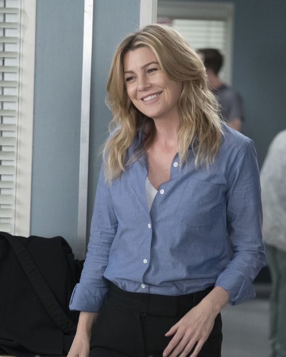 Meredith (Ellen Pompeo) muss sich mit einem ehrgeizigen Arzt beschäftigen. Unterdessen bringt ein Gespräch mit einem Rabbi April zum Nachdenken ... - Bildquelle: Eric McCandless 2017 American Broadcasting Companies, Inc. All rights reserved./Eric McCandless