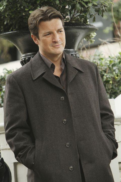 Trifft auf einen alten Schulfreund wieder und muss feststellen, dass er ein Tatverdächtiger in einem neuen Fall ist: Castle (Nathan Fillion) ... - Bildquelle: ABC Studios