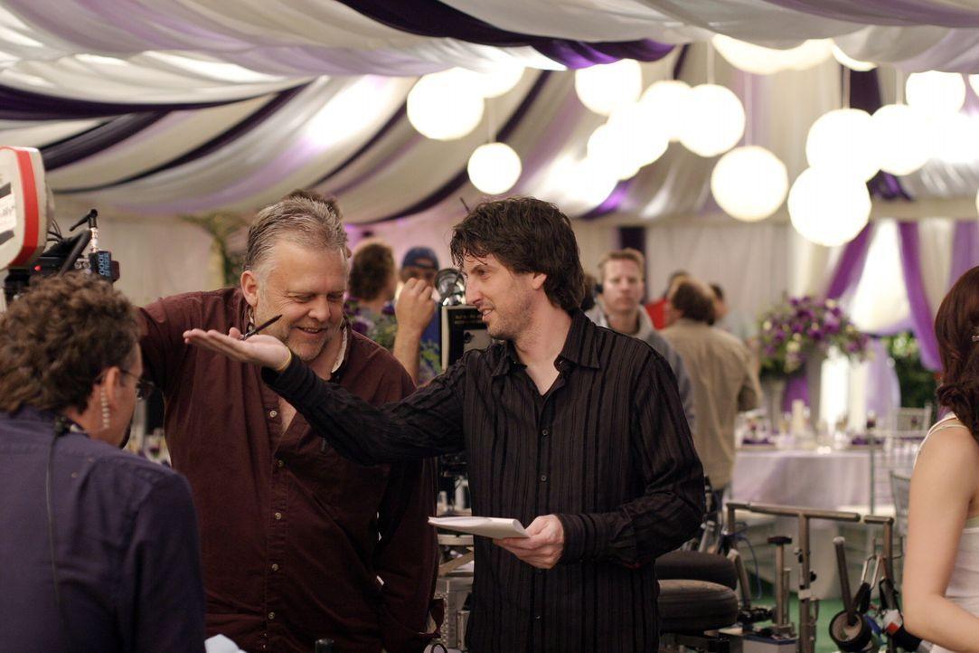 """Bei den Dreharbeiten zu """"Onee Tree Hill"""" ... - Bildquelle: Warner Bros. Pictures"""