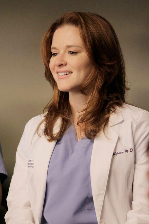 Ein harter Tag wartet auf April (Sarah Drew) und ihre Kollegen ... - Bildquelle: ABC Studios