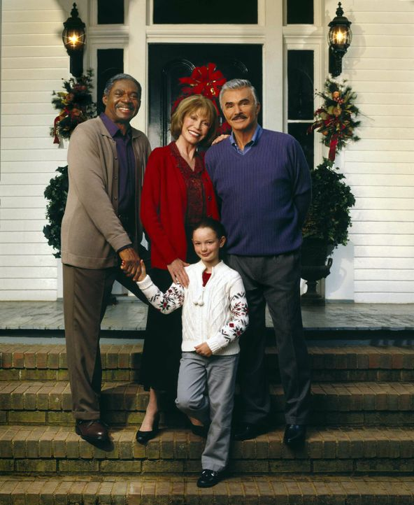 Eine kleine, süße Nervensäge, Travis (Holliston Coleman, vorne), macht alle Menschen ihrer Umgebung glücklich: (v.l.n.r.) Isaiah Griffin (Charle... - Bildquelle: Viacom Productions Inc.