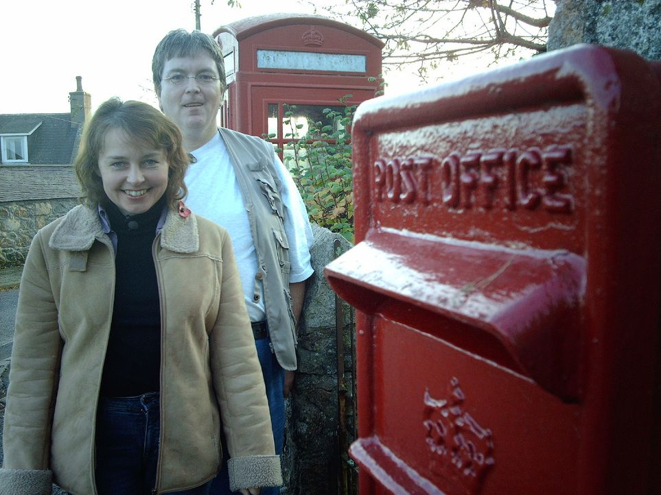 Rolf und Gretlies Karstaedt aus Hannover wollen in an der Ostküste Schottlands ein neues Leben beginnen ... - Bildquelle: kabel eins