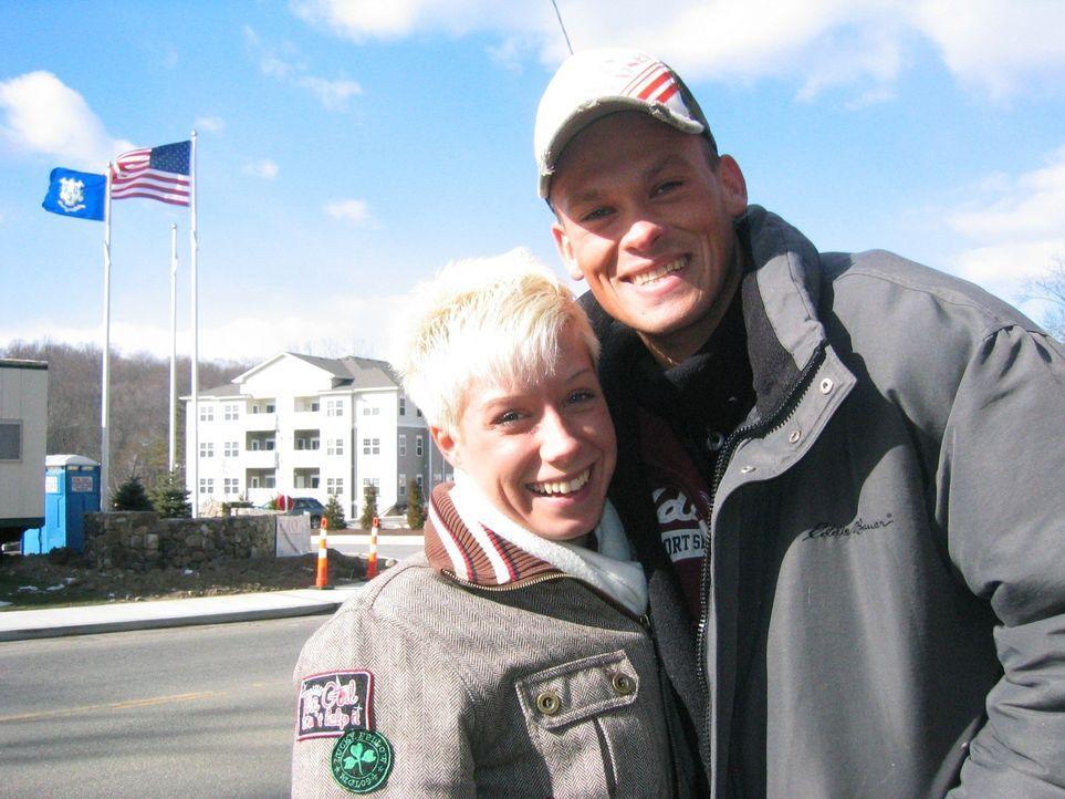 Anja Leiter (21) und ihr Lebensgefährte Christian Duffke (27) lieben Amerika und wollen schon seit einiger Zeit dorthin auswandern. Die beiden Tän... - Bildquelle: kabel eins