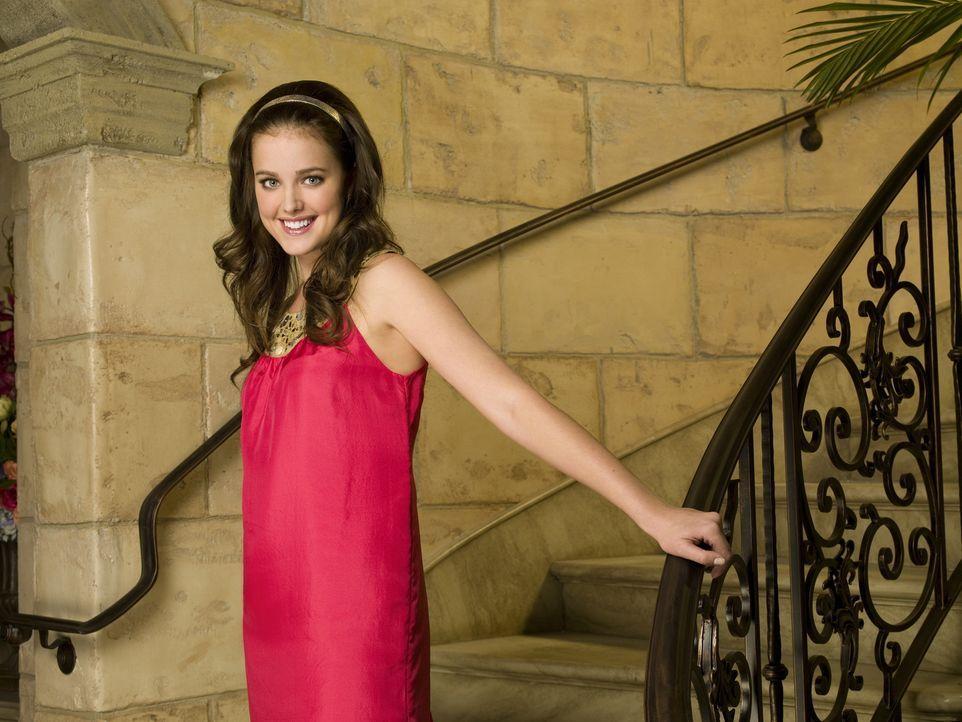 (1. Staffel) - Sage Baker (Ashley Newbrough ) hat nicht die Absicht eines Tages zur Uni zu gehen ... - Bildquelle: Warner Bros. Television