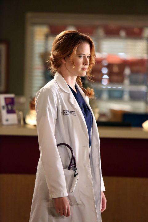 April (Sarah Drew) muss erkennen, dass Jackson keinerlei Gefühle mehr für sie hat ... - Bildquelle: ABC Studios