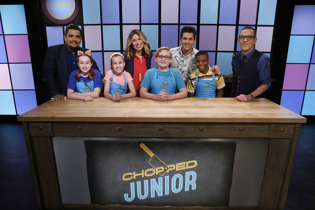 In dieser Folge treten Camryn, Jamol, Melinda und Aidan gegeneinander an. Ih... - Bildquelle: Jason DeCrow 2016, Television Food Network, G.P. All Rights Reserved