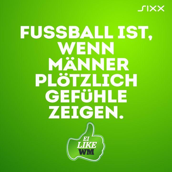 WM 2014: Lustige Fußball-Sprüche gemixt mit Frauen-Weisheiten