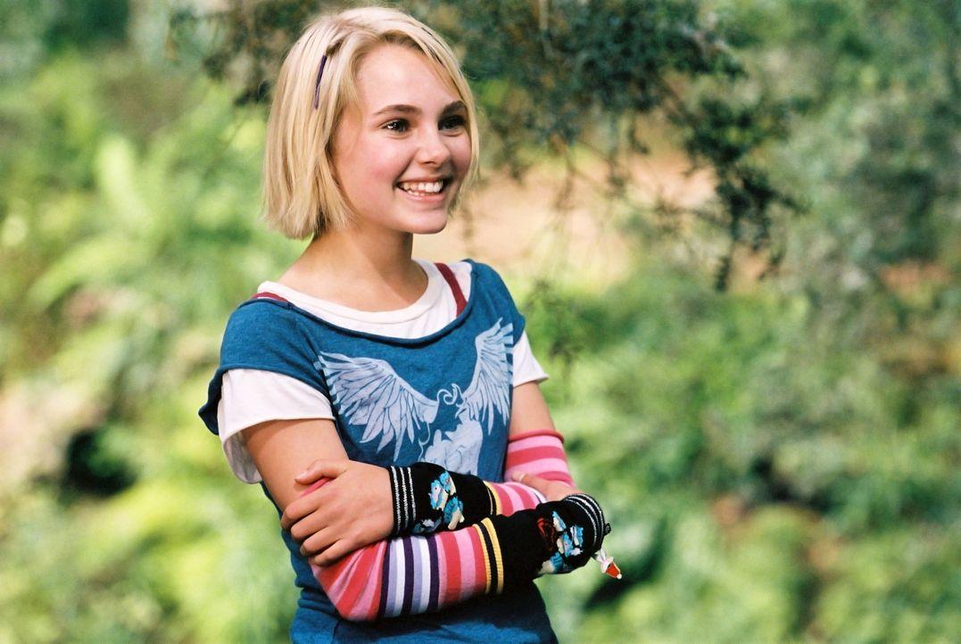 Jess hat den Ruf, der schnellste Läufer seiner Schule zu sein. Bis er auf Leslie (Anna Sophia Robb) trifft, die mit ihren Eltern neu in den Ort gezo... - Bildquelle: 2006 Constantin Film, München