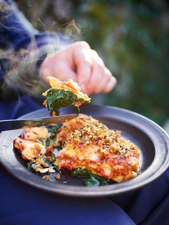 Lasagne gehört zu den weltweiten Wohlfühlgerichten, doch diese ist keine klassische Lasagne ... - Bildquelle: FRESH ONE PRODUCTIONS MMXIV