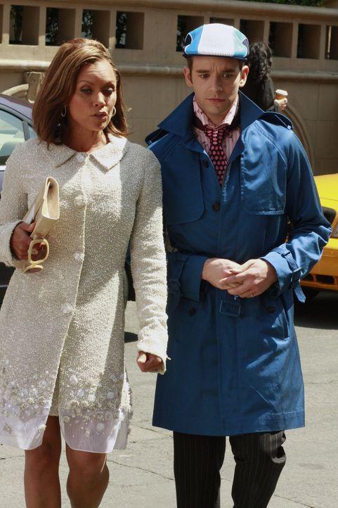 Sind immer für eine Überraschung gut: Wilhelmina (Vanessa Williams, l.) und Marc (Michael Urie, r.) ... - Bildquelle: Buena Vista International Television