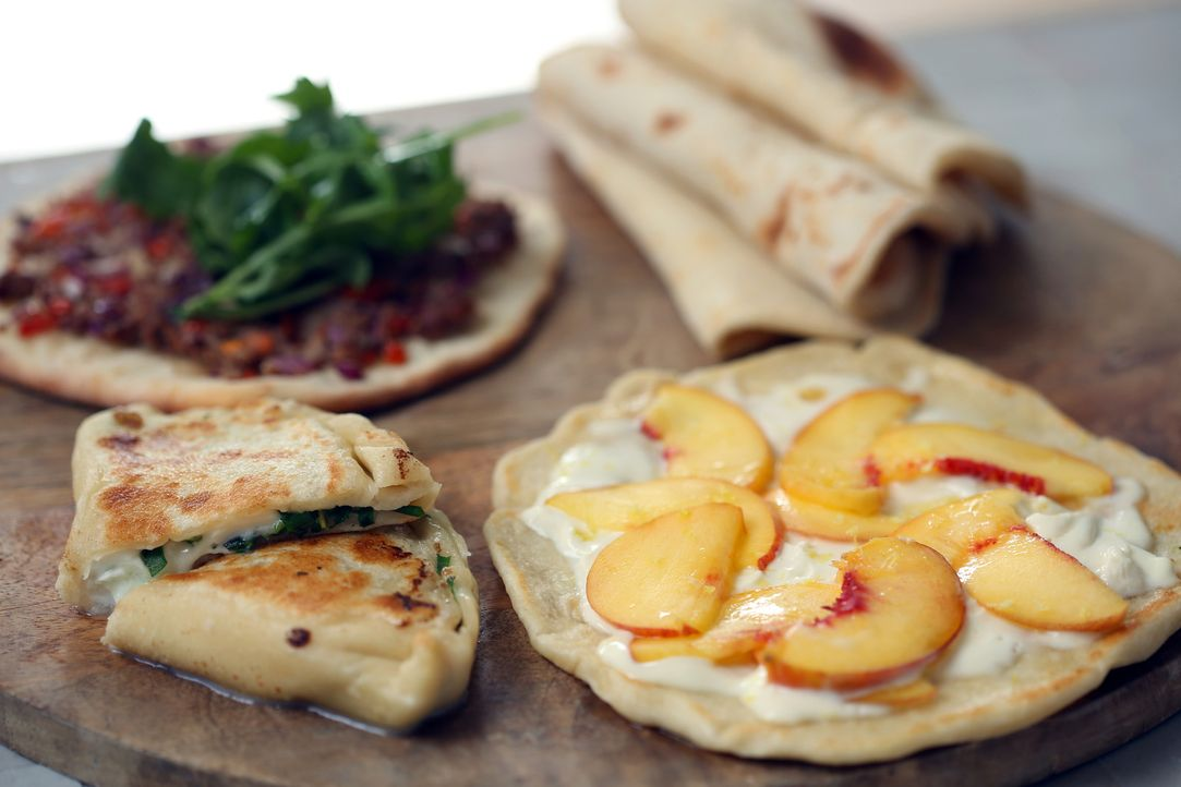 """Londoner Spezialität: """"Brot in drei Variationen"""" ... - Bildquelle: Richard Hill BBC 2013"""