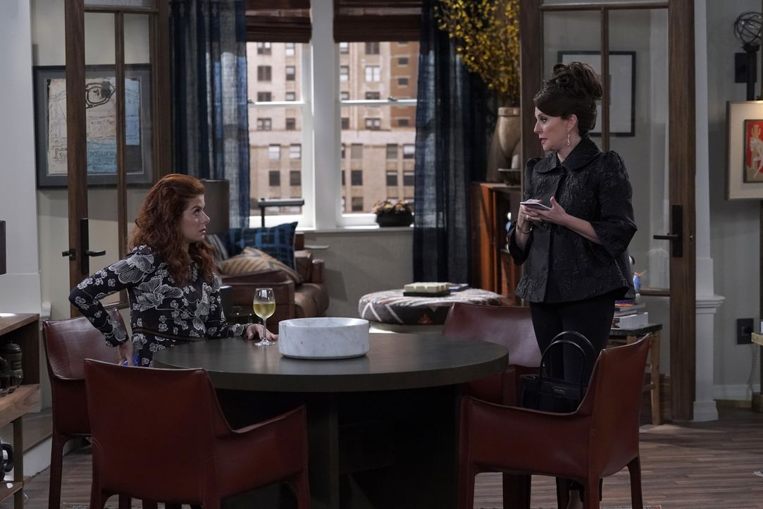 Grace (Debra Messing, l.); Karen (Megan Mullally, r.) - Bildquelle: Chris Haston 2018 NBCUniversal Media, LLC / Chris Haston