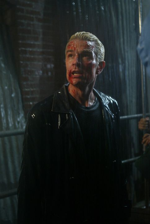 In einer dunklen Gasse stehen Spike (James Marsters) und seine Freunde plötzlich einer Horde Dämonen, Drachen und anderem Höllengetier gegenüber - D... - Bildquelle: The WB Television Network