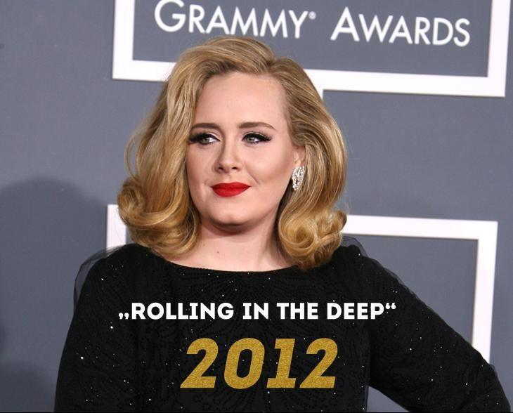Grammy 2012: Rolling in the deep - Bildquelle: wenn