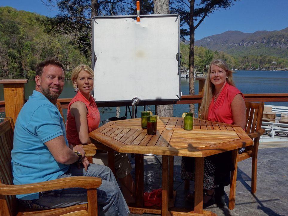 Steve und Erin wollen sich mit ihren beiden Söhnen in der Nähe des Lake Lure... - Bildquelle: 2016,HGTV/ Scripps Networks, LLC. All Rights Reserved