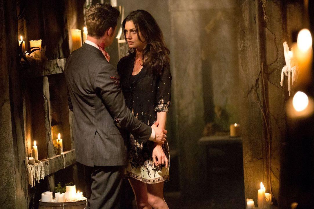 Werden Elijah (Daniel Gillies, l.) und Hayley (Phoebe Tonkin, r.) für immer getrennt sein? - Bildquelle: Warner Bros. Television