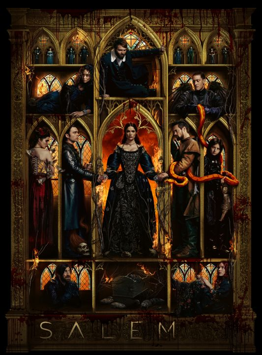 (3. Staffel) - Salem - Artwork - Bildquelle: 2016-2017 Fox and its related entities.  All rights reserved.