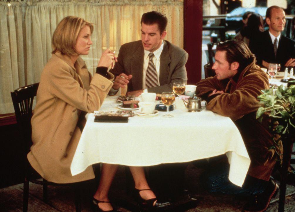 (v.l.n.r.) Heather Davis (Cameron Diaz); Francis Fitzpatrick (Mike McGlone); Mickey Fitzpatrick (Edward Burns) - Bildquelle: 1996 Twentieth Century Fox Film Corporation.  All rights reserved.