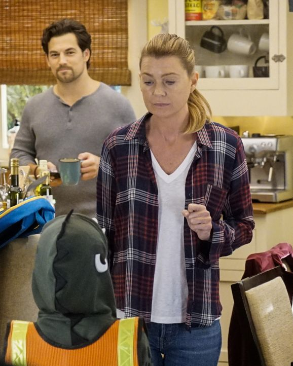 Dr. Andrew DeLuca (Giacomo Gianniotti, l.); Dr. Meredith Grey (Ellen Pompeo, r.) - Bildquelle: Kelsey McNeal 2019 American Broadcasting Companies, Inc. All rights reserved. / Kelsey McNeal