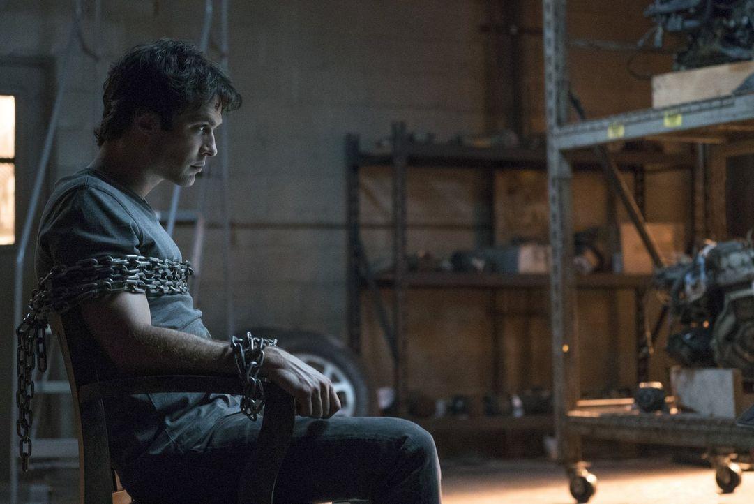 Obwohl sich Sybil in den Fängen von Stefan und Alaric befindet, scheint sie Damon (Ian Somerhalder) weiterhin unter Kontrolle zu haben ... - Bildquelle: Warner Bros. Entertainment, Inc.