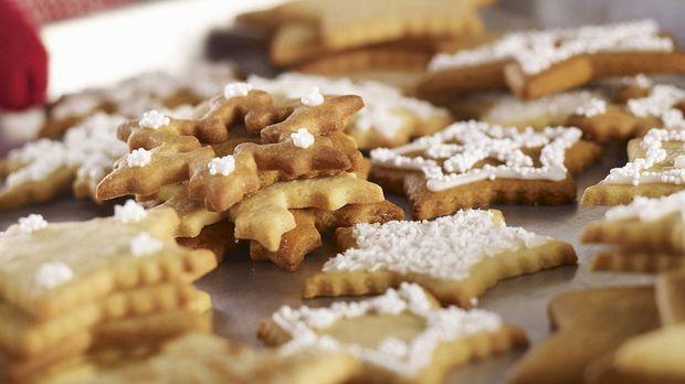 Weihnachtsplätzchen Rezept Zum Ausstechen.Mandel Kekse