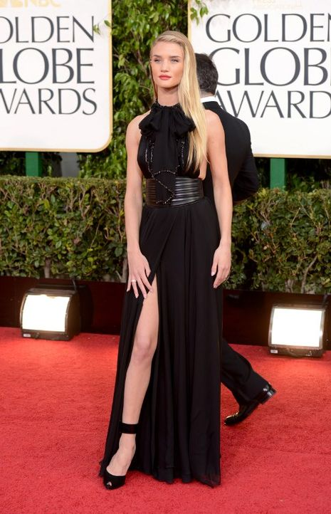 Golden Globes: Kleid von Rosie Huntington-Whiteley - Bildquelle: AFP