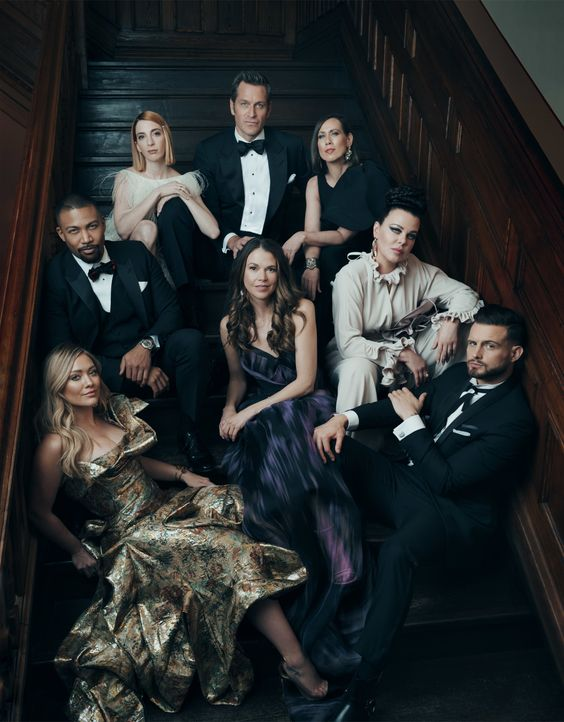 (6. Staffel) - (v.l.n.r.) Kelsey Peters (Hilary Duff); Zane Anders (Charles Michael Davis); Lauren Heller (Molly Bernard); Charles Brooks (Peter Her... - Bildquelle: Norman Jean Roy 2019 Viacom International Inc. All Rights Reserved / Norman Jean Roy
