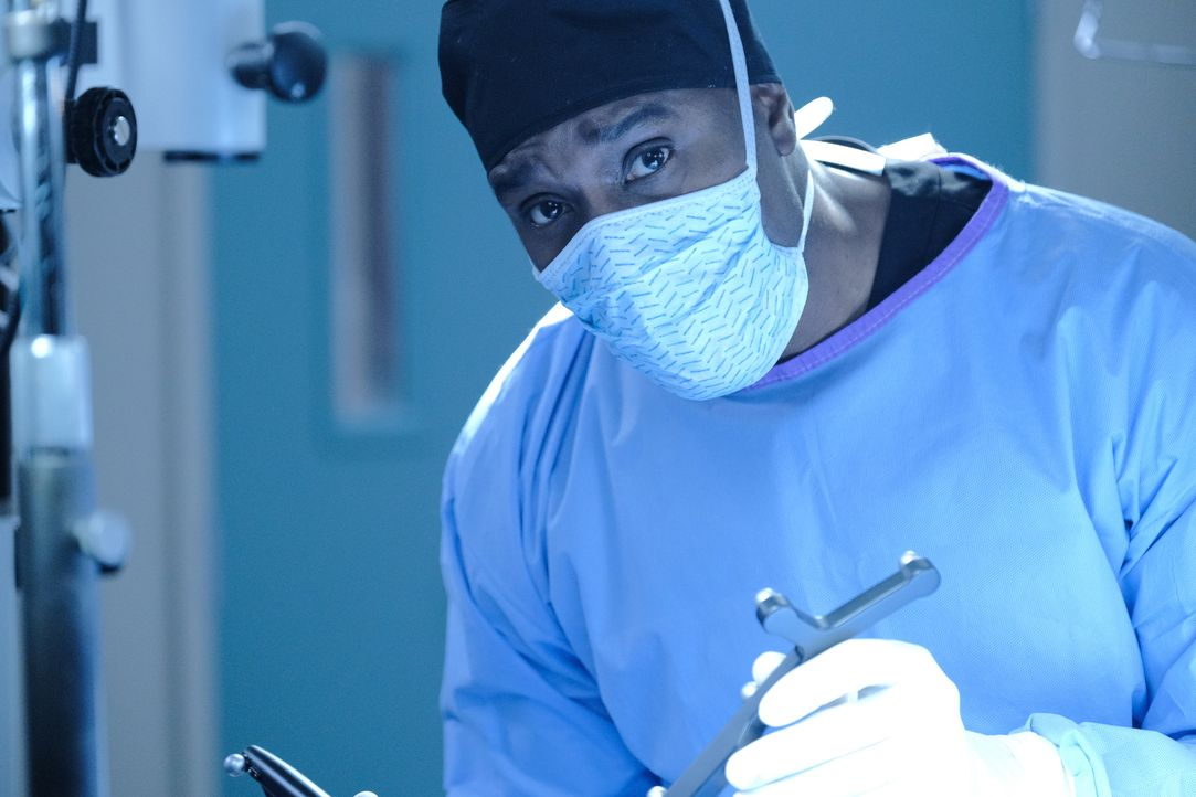 Dr. Barrett Cain (Morris Chestnut) - Bildquelle: Guy D'Alema 2019-2020 Twentieth Century Fox Film Corporation.  All rights reserved. / Guy D'Alema