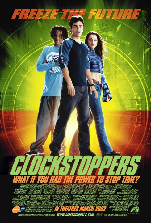 CLOCKSTOPPERS - Plakatmotiv - Bildquelle: TM &   2001-2006 BY PARAMOUNT. ALL RIGHTS RESERVED