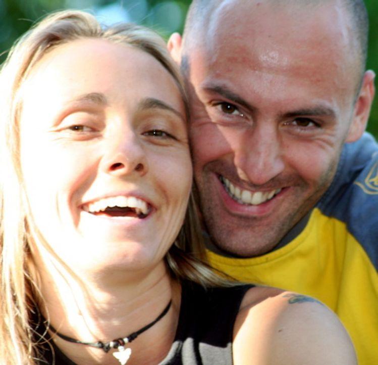 Wollen nach Neuseeland auswandern: Annett Hauck (l.) und ihr Lebensgefährte Frank Babic (r.) ... - Bildquelle: kabel eins