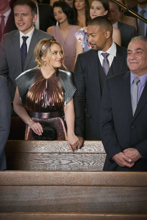 Kelsey Peters (Hilary Duff, l.); Zane Anders (Charles Michael Davis, r.) - Bildquelle: 2019 Viacom International Inc. All Rights Reserved