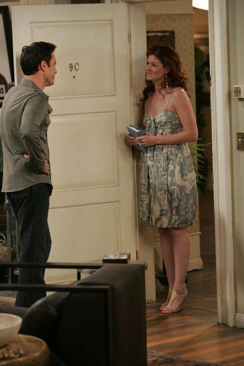 Will (Eric McCormack, l.) und Grace (Debra Messing, r.) haben also endlich wieder zusammengefunden. Aber sie merken schnell, dass es einfach nicht m... - Bildquelle: NBC Productions