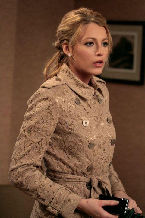 Übernimmt die Verantwortung für den Zwischenfall mit Gossip Girl, der das Drama auf der Hochzeit von Blair verursachte, weil sie glaubt, jemanden da... - Bildquelle: Warner Bros. Television