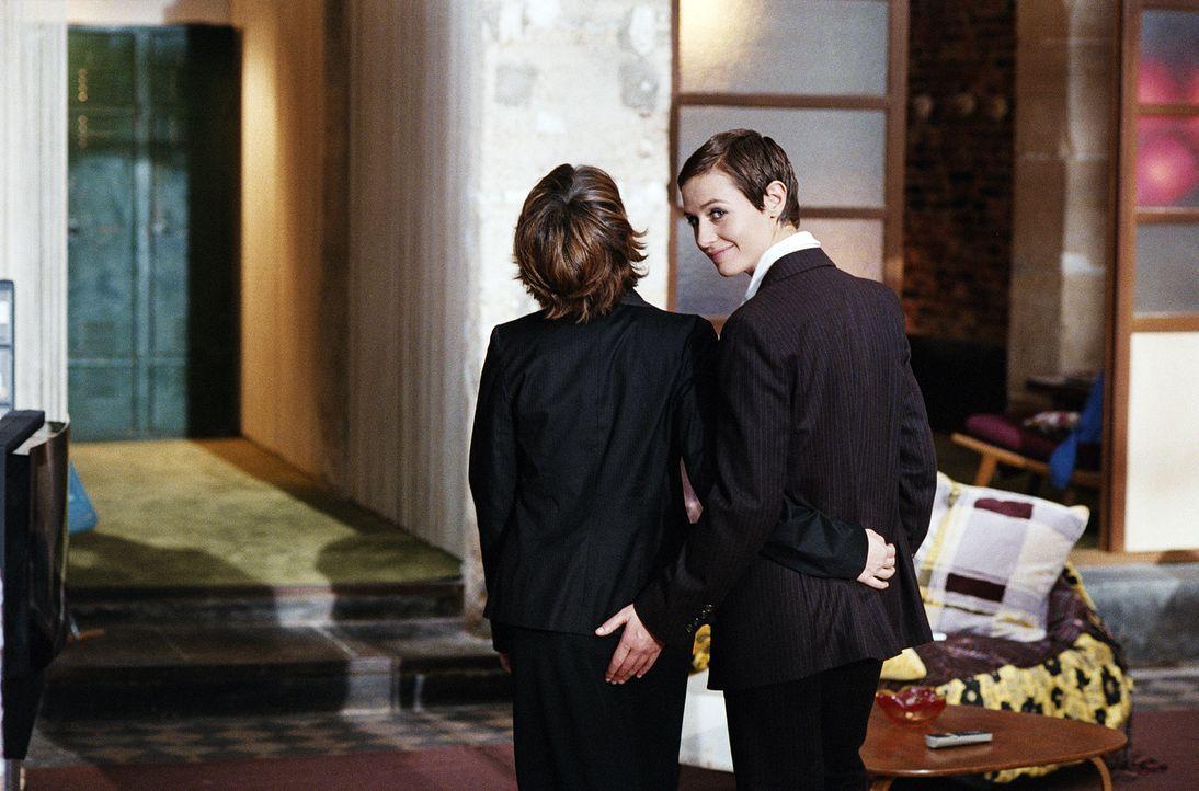 Die lesbische Isabelle (Cécile De France, r.) weiß, wem ihr Herz gehört ... - Bildquelle: Tobis Film