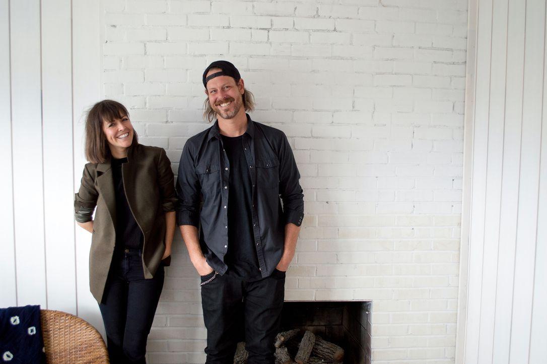 Die Geschwister Steve (r.) und Leanne Ford (l.) zaubern traumhafte Wohnräume ... - Bildquelle: 2017, Scripps Networks, LLC. All Rights Reserved.