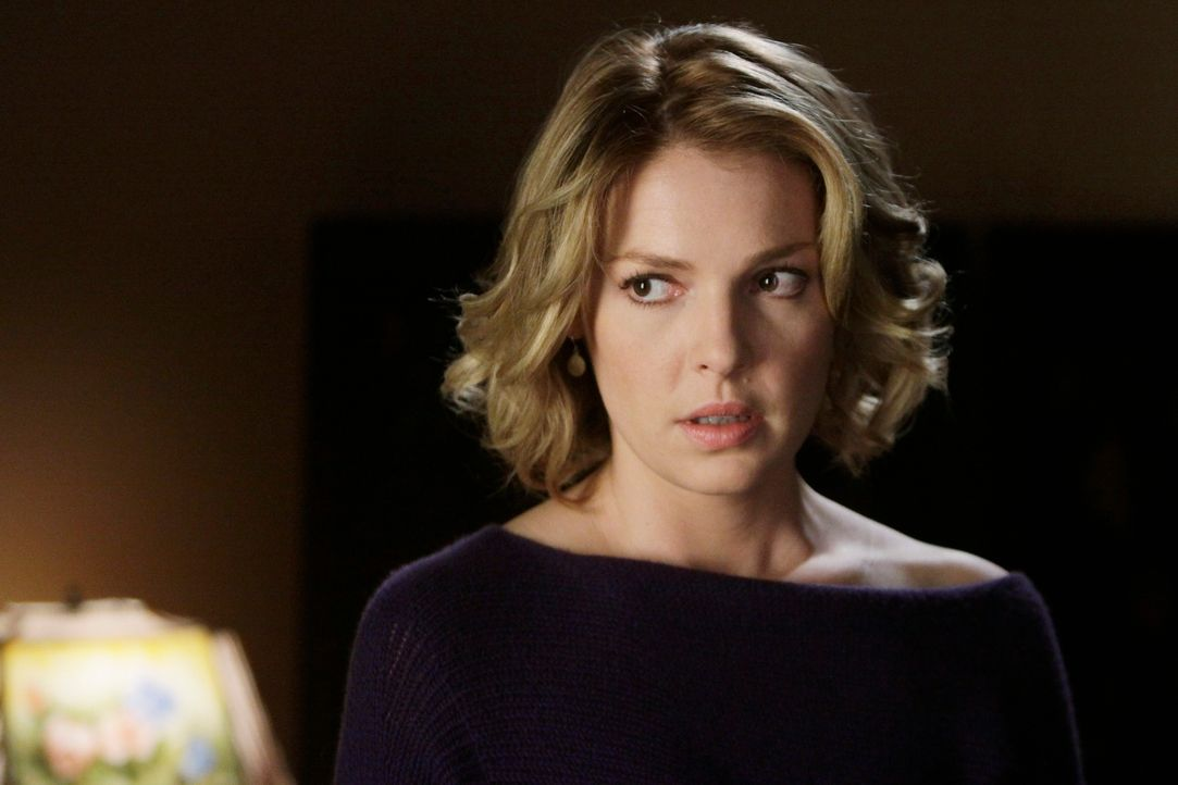 Derek will Richard mit seinem Alkoholproblem konfrontieren, während Izzie (Katherine Heigl) wieder zurückkehrt um die Dinge mit Alex zu klären ... - Bildquelle: Touchstone Television