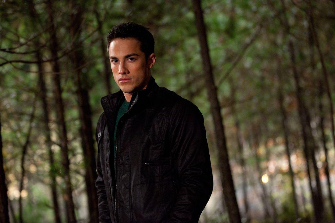 Wird sich Tyler (Michael Trevino) gegen seinen Werwolfsclan stellen? - Bildquelle: Warner Brothers