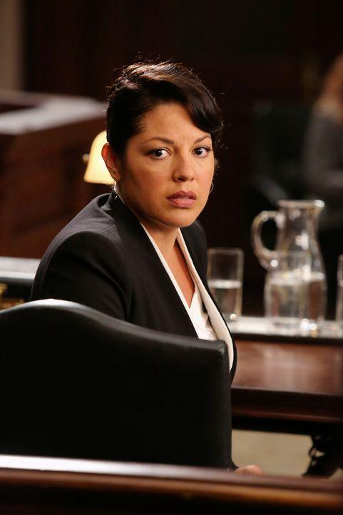 Vor Gericht muss sich Callie (Sarah Ramirez) den Aussagen ihrer Kollegen stellen ... - Bildquelle: ABC Studios