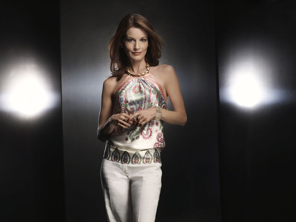 Sydney Andrews (Laura Leighton) wird der Swimmingpool zum Verhängnis ... - Bildquelle: 2009 The CW Network, LLC. All rights reserved.