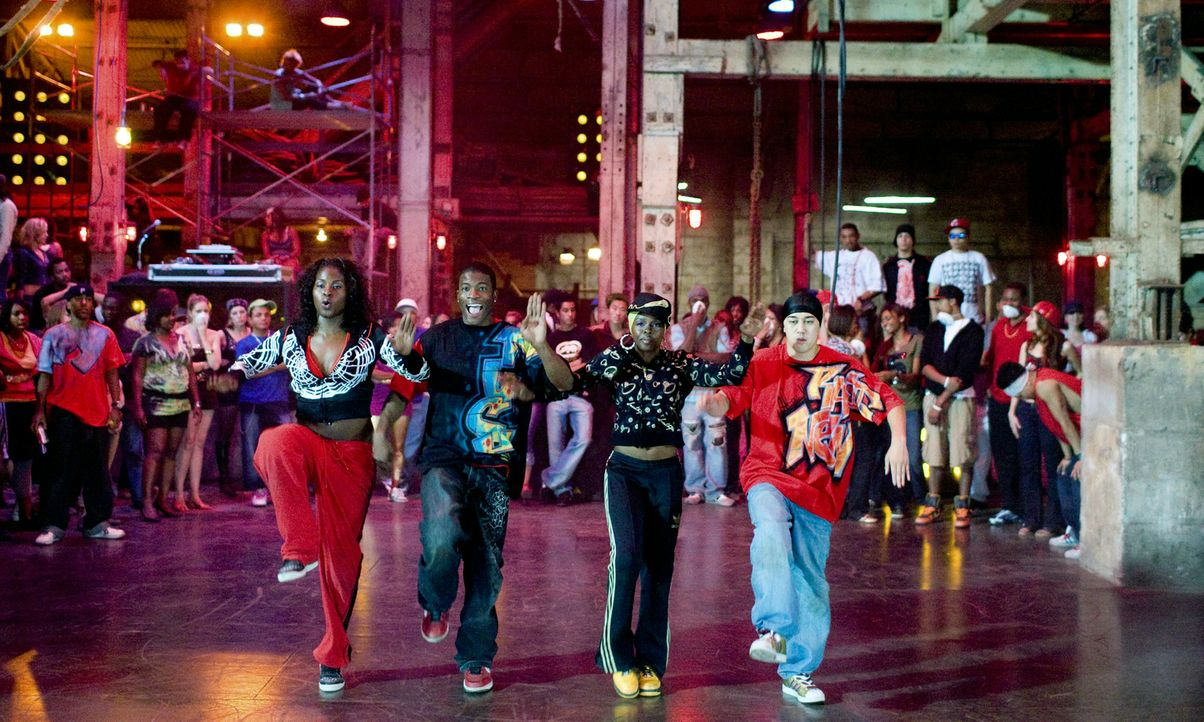 Der Underground Dance Battle ... - Bildquelle: 2008 Constantin Film