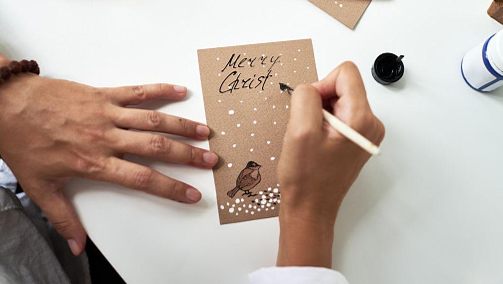 Weihnachtskarten Mit Sternen Basteln.Weihnachtskarten Basteln Diy Sixx De